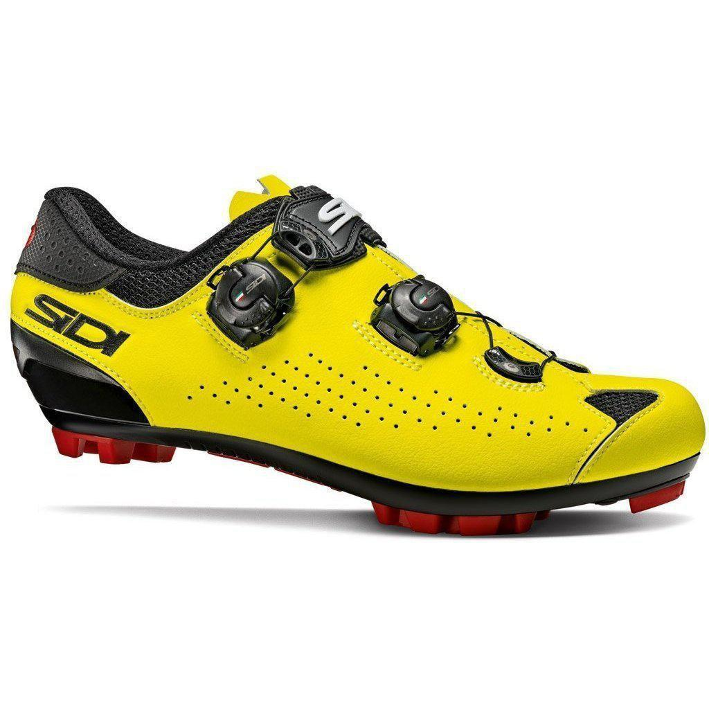 Sidi-Sidi Eagle 10 MTB Shoes-36-Black/Yellow Fluo-SIEAGLE10NEGIFL36-saddleback-elite-performance-cycling