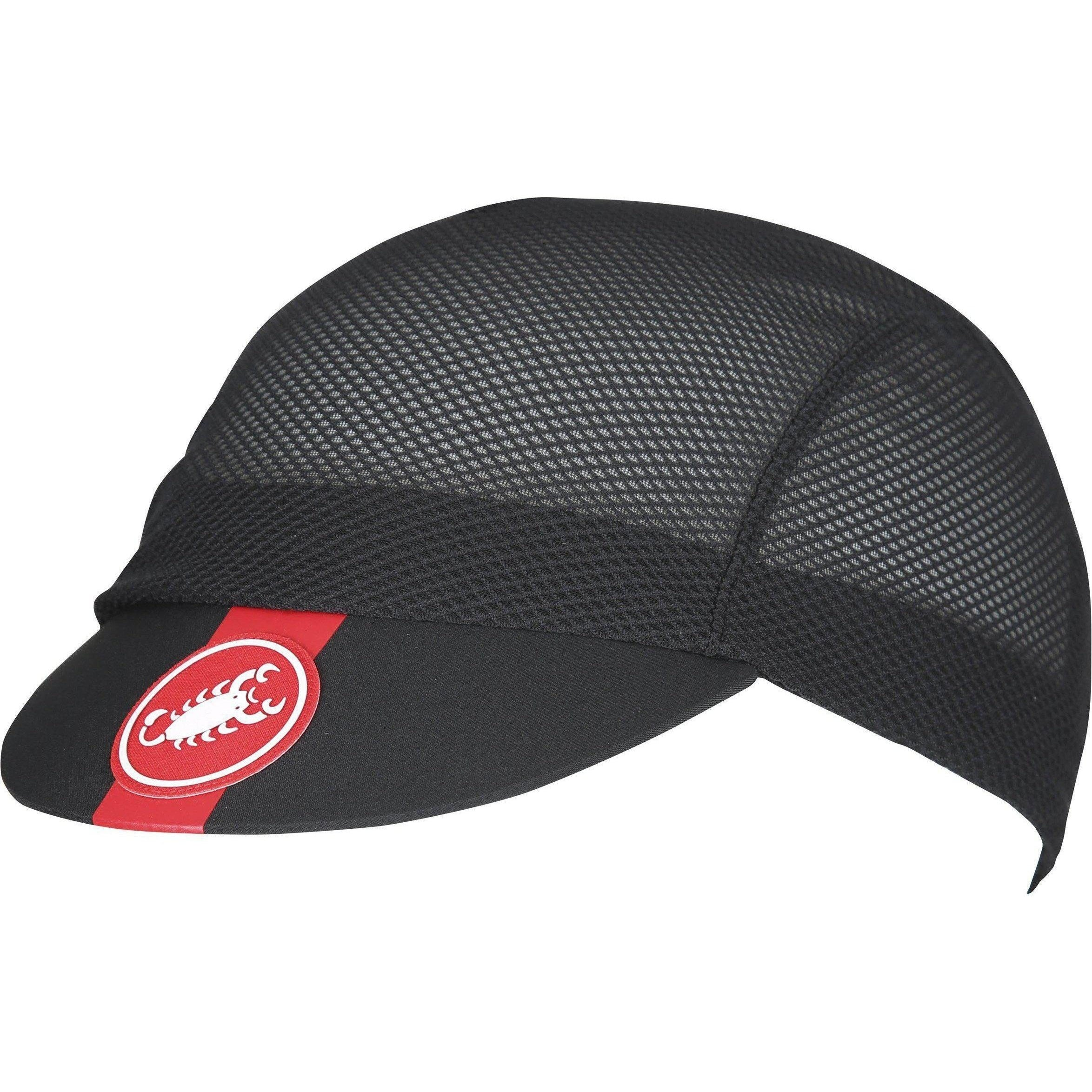 Castelli-Castelli A/C Cycling Cap-Black-UNI-CS180240108-saddleback-elite-performance-cycling