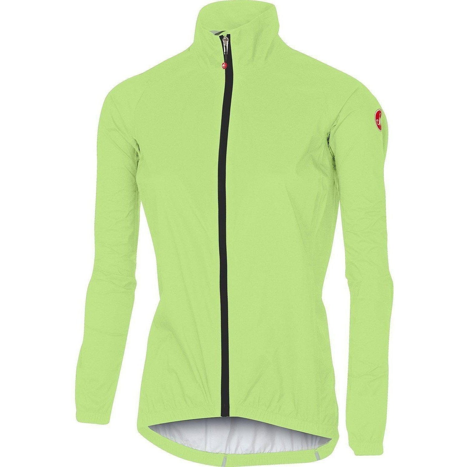Castelli-Castelli Women's Emergency Rain Jacket-Yellow Fluo-XS-CS175380321-saddleback-elite-performance-cycling