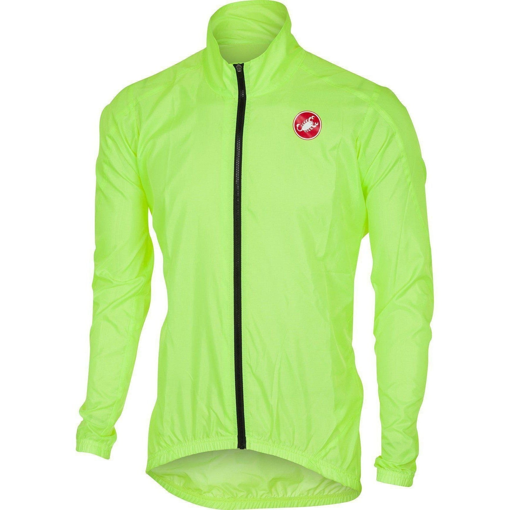 Castelli-Castelli Squadra ER Jacket-Yellow Fluo-S-CS175070322-saddleback-elite-performance-cycling