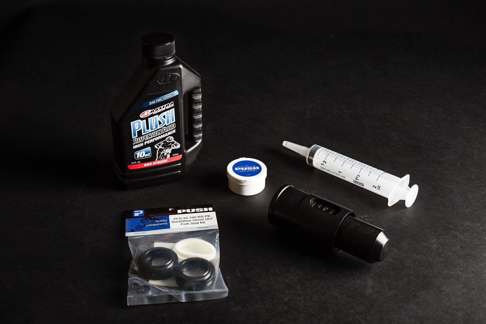 PUSH Industries-PUSH Complete Lower Leg Service Kit-Fox 36mm-PUSVC-KIT-36-saddleback-elite-performance-cycling