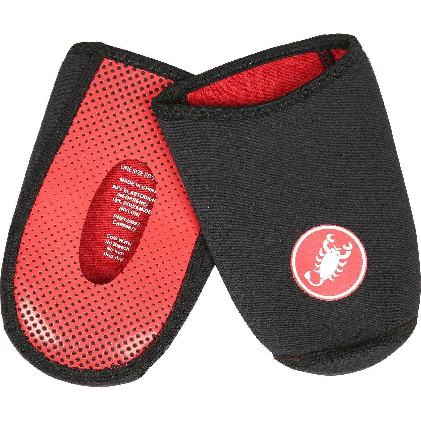 Castelli-Castelli Toe Thingy 2 Toe Covers-Black-Uni-CS180930108-saddleback-elite-performance-cycling
