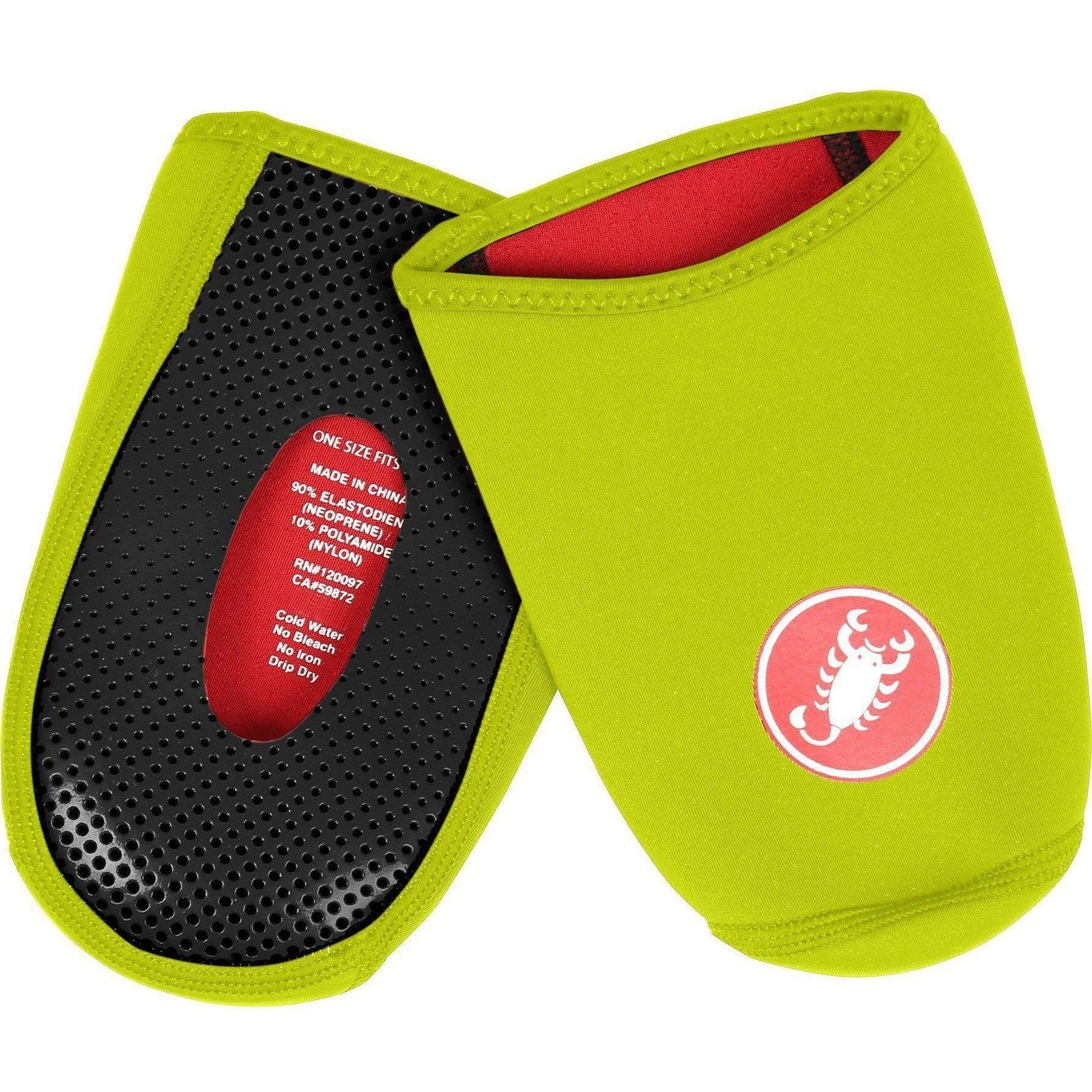 Castelli-Castelli Toe Thingy 2 Toe Covers-Yellow Fluo-Uni-CS180930328-saddleback-elite-performance-cycling