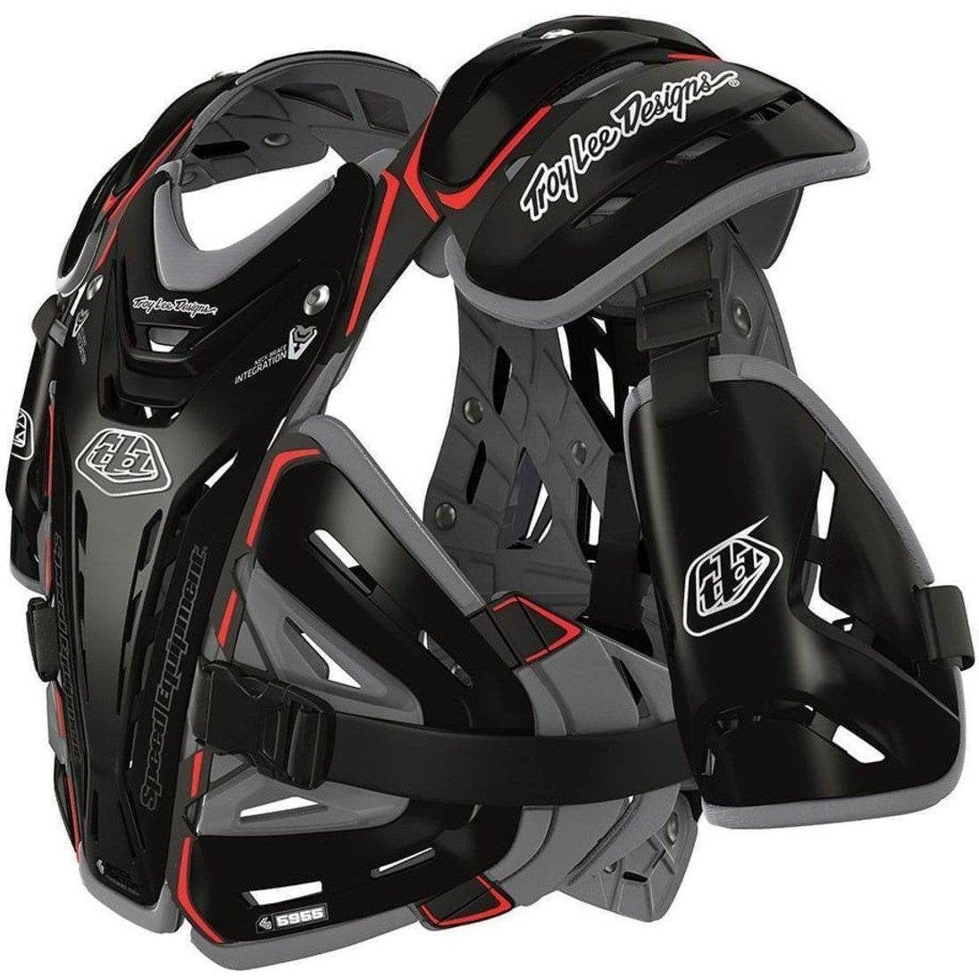 Troy Lee Designs-Troy Lee Designs 5955 Youth Body Guard Protection-BLACK-YOUTH-TLD503003203-saddleback-elite-performance-cycling