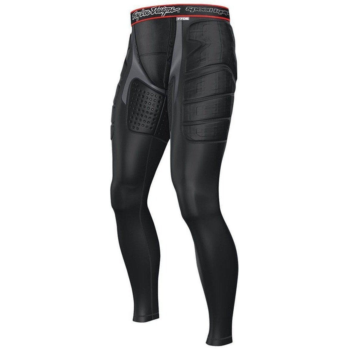 Troy Lee Designs-Troy Lee Designs 7705 Lower Protection Ultra Pants-BLACK-XS-TLD518003204-saddleback-elite-performance-cycling
