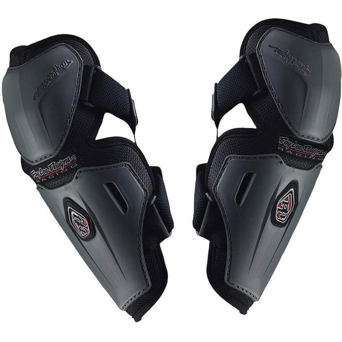 Troy Lee Designs-Troy Lee Designs Youth Elbow Guards Long-GRAY-YOUTH-TLD546003900-saddleback-elite-performance-cycling