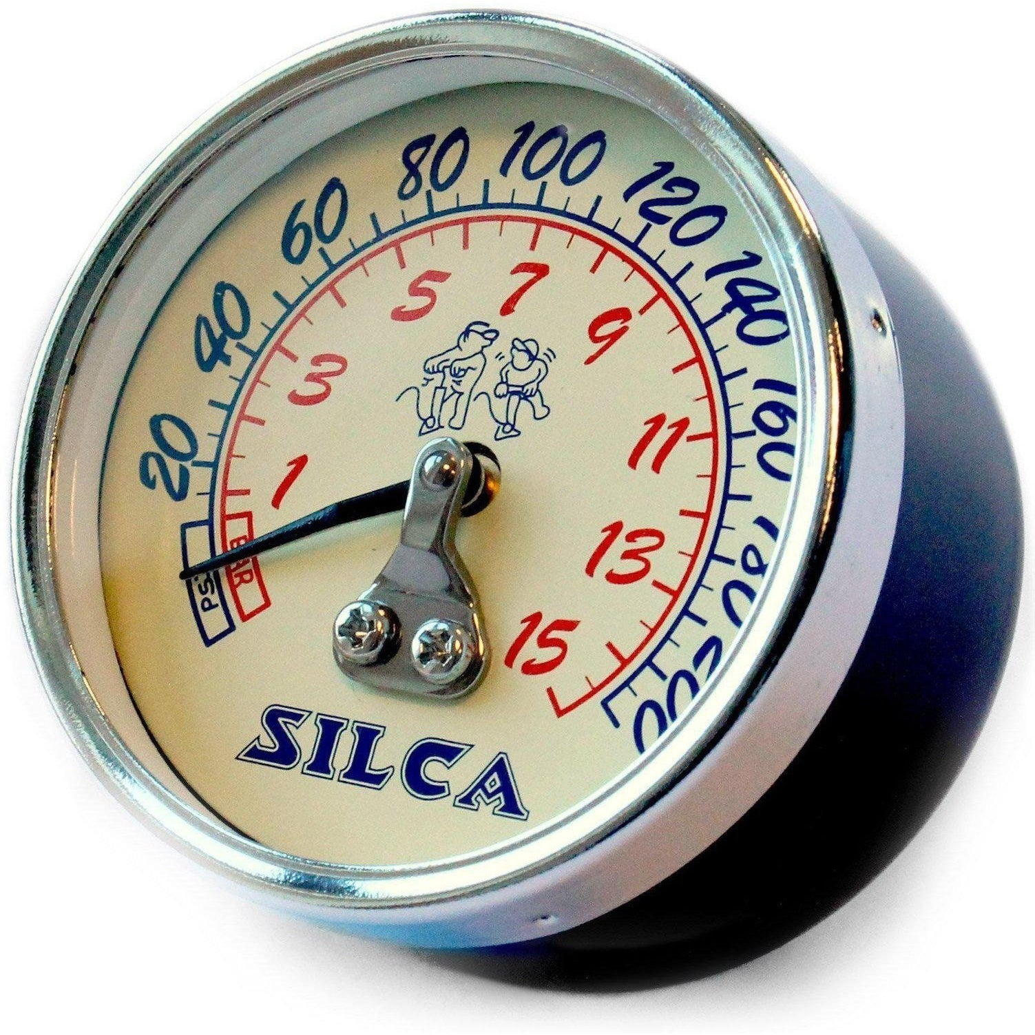 Silca-Silca 210psi Replacement Gauge for Pista and SuperPista-White-Uni-SIAMPUSPACOM005-saddleback-elite-performance-cycling