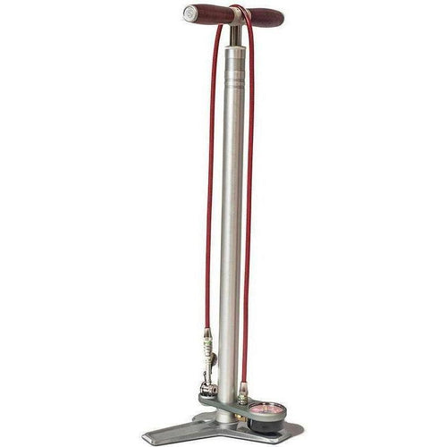 Silca-Silca Superpista Ultimate Floor Pump - Hiro Edition-Silver-One Size-SIAMPUSP2ASY011-saddleback-elite-performance-cycling
