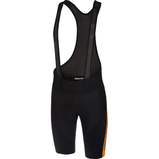 Castelli-Castelli Velocissimo 4 Bib Shorts-Black/Orange-S-CS180093412-saddleback-elite-performance-cycling