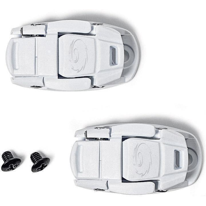 Sidi-Sidi Caliper Buckles-White-One Pair-SISPRLEVASD06W-saddleback-elite-performance-cycling