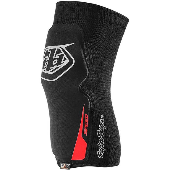 Troy Lee Designs-Troy Lee Designs Speed D3O Knee Sleeves-BLACK-XS-S-TLD568003201-saddleback-elite-performance-cycling