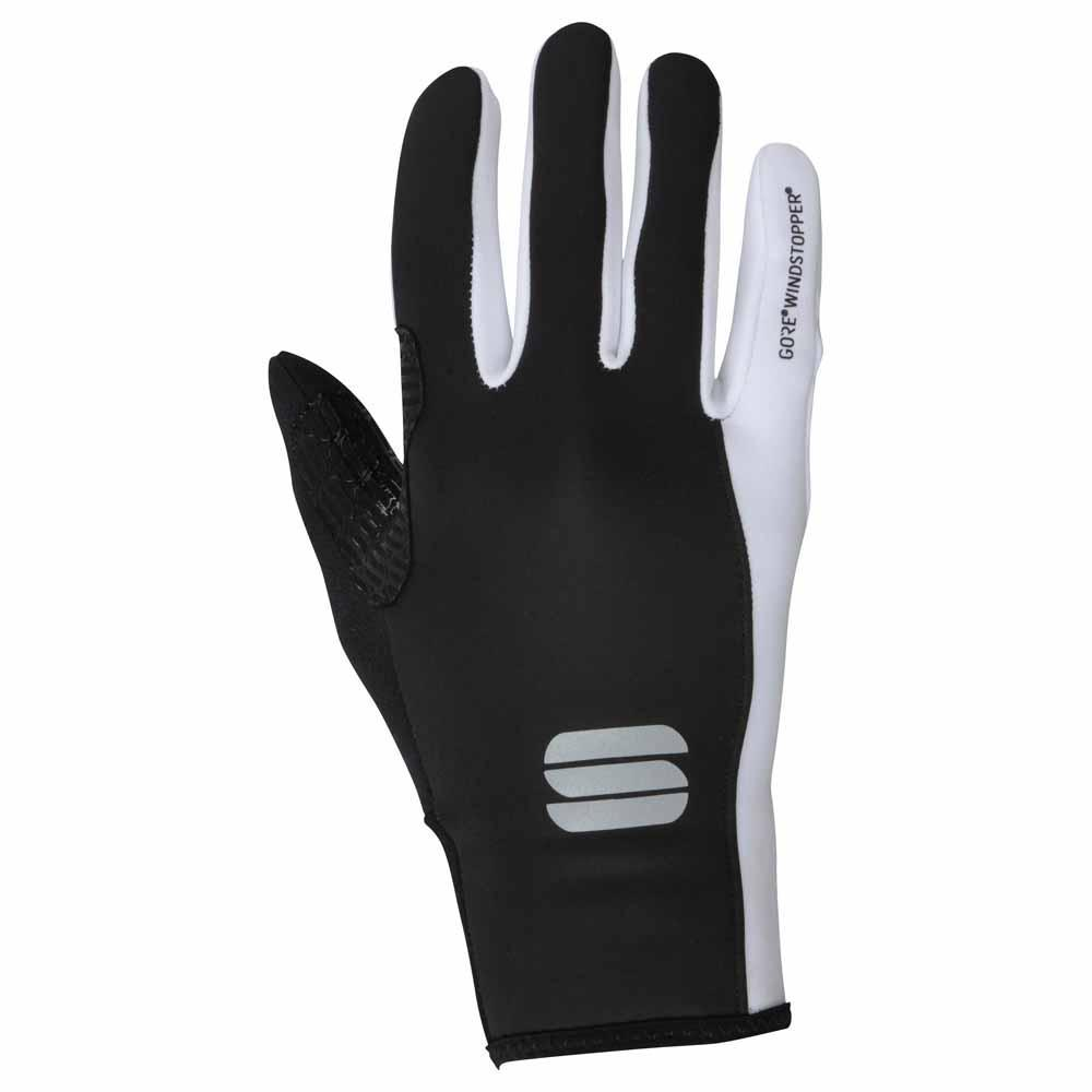 Sportful-Sportful WS Essential 2 Women's Gloves-Black/White-XS-SF019811011-saddleback-elite-performance-cycling
