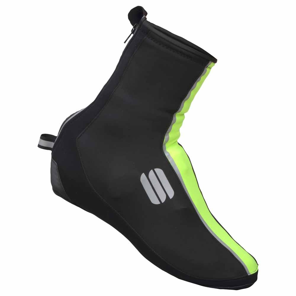 Sportful-Sportful WS Reflex 2 Bootie-Black/Yellow Fluo-S-SF019710912-saddleback-elite-performance-cycling