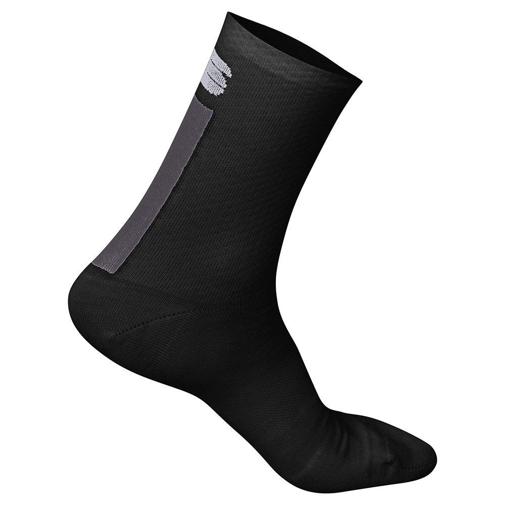 Sportful-Sportful Wool Women's 16 Socks-Black/Anthracite-S/M-SF1955400209-saddleback-elite-performance-cycling
