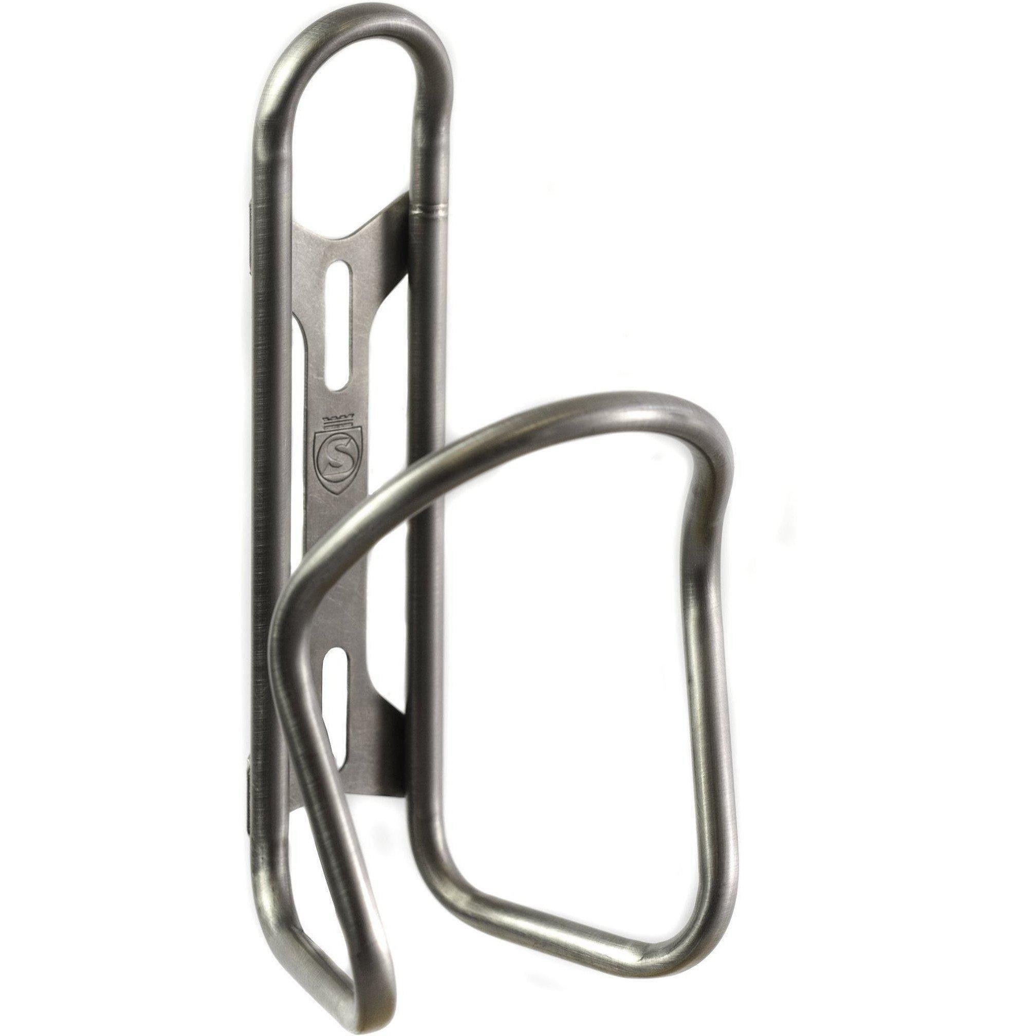 Silca-Silca Sicuro Titanium Bottle Cage-Uni-Silver-SIAMAHY002ASY0100-saddleback-elite-performance-cycling