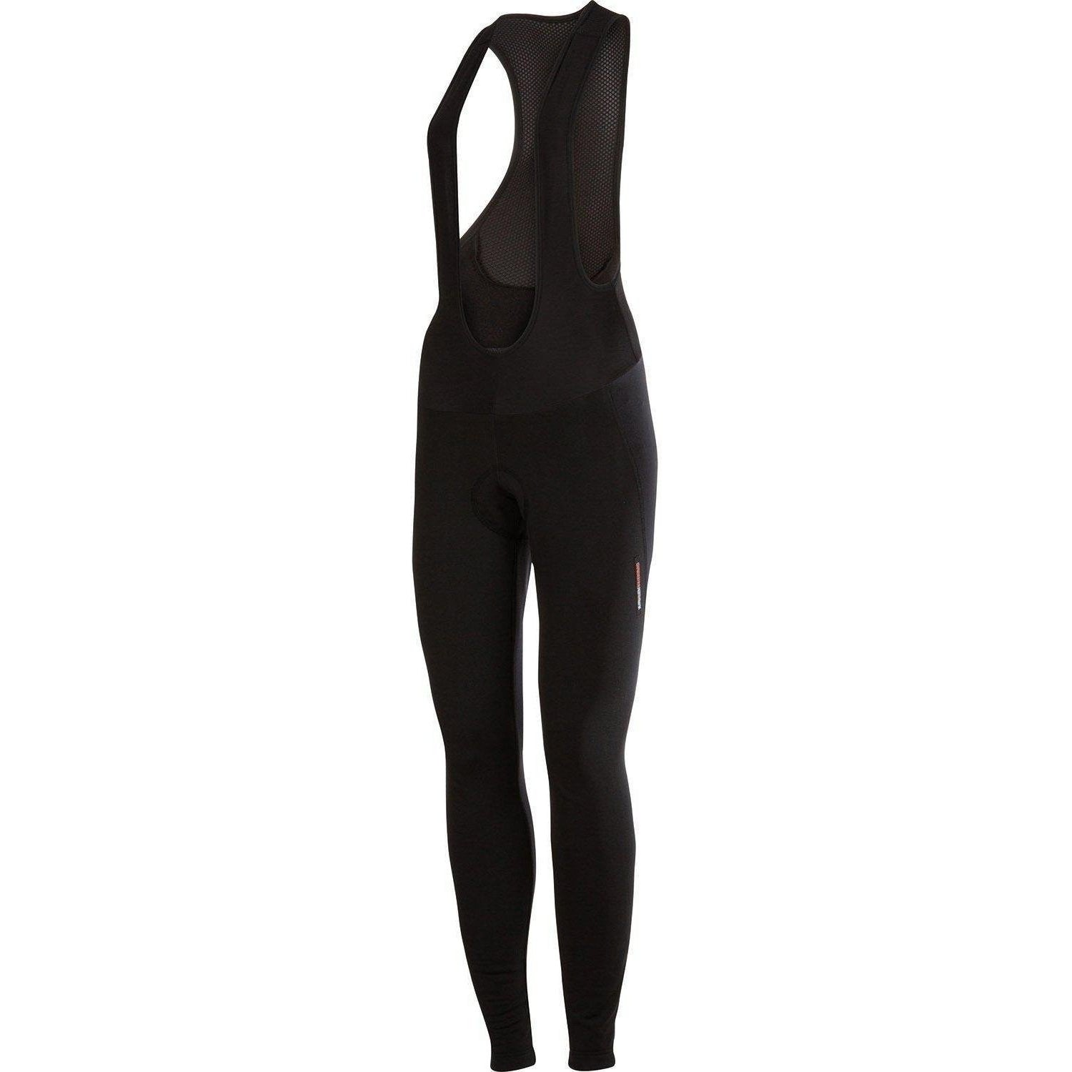 Castelli-Castelli Meno Wind Women's Bib Tights-Black-XS-CS155650101-saddleback-elite-performance-cycling