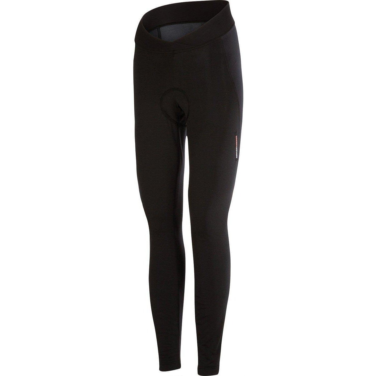 Castelli-Castelli Meno Wind Women's Tights-Black-XS-CS155660101-saddleback-elite-performance-cycling
