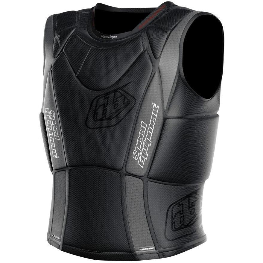 Troy Lee Designs-Troy Lee Designs 3900 Upper Protection Vest-BLACK-S-TLD514003205-saddleback-elite-performance-cycling