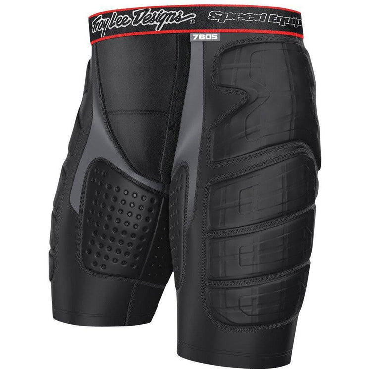 Troy Lee Designs-Troy Lee Designs 7605 Lower Protection Ultra Shorts-BLACK-XS-TLD526003204-saddleback-elite-performance-cycling