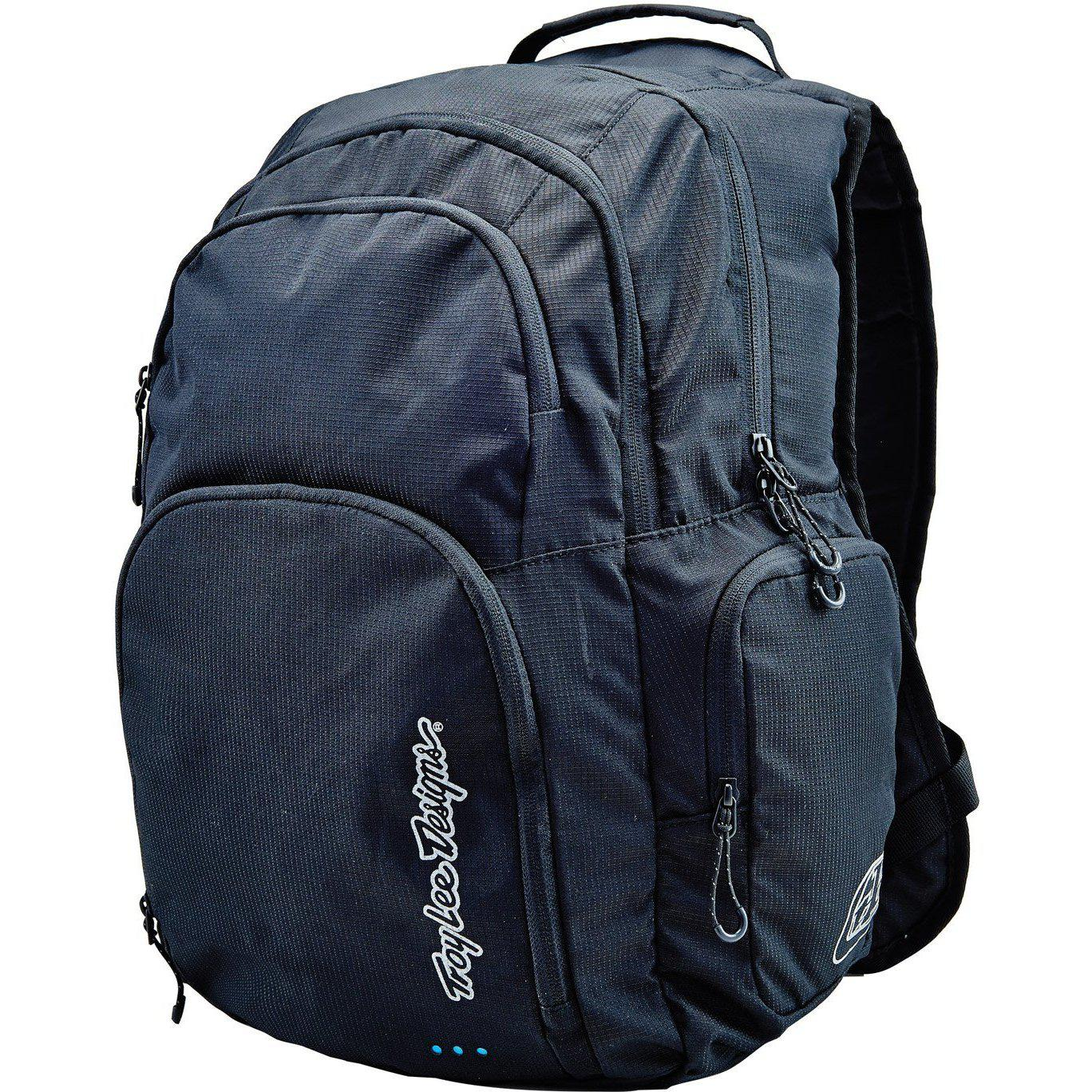 Troy Lee Designs-Troy Lee Designs Genesis Backpack-BLACK-Uni-TLD608003200-saddleback-elite-performance-cycling
