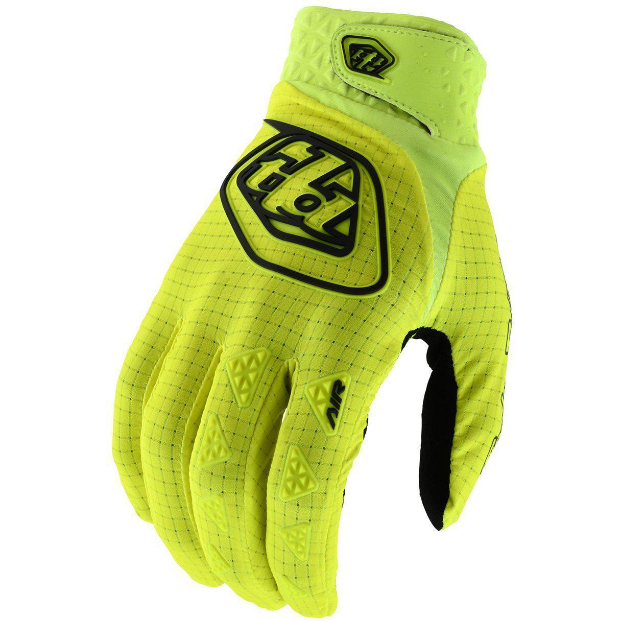 Troy Lee Designs-Troy Lee Designs Air Youth Gloves-Flo Yellow-Y-XS-TLD406785051-saddleback-elite-performance-cycling