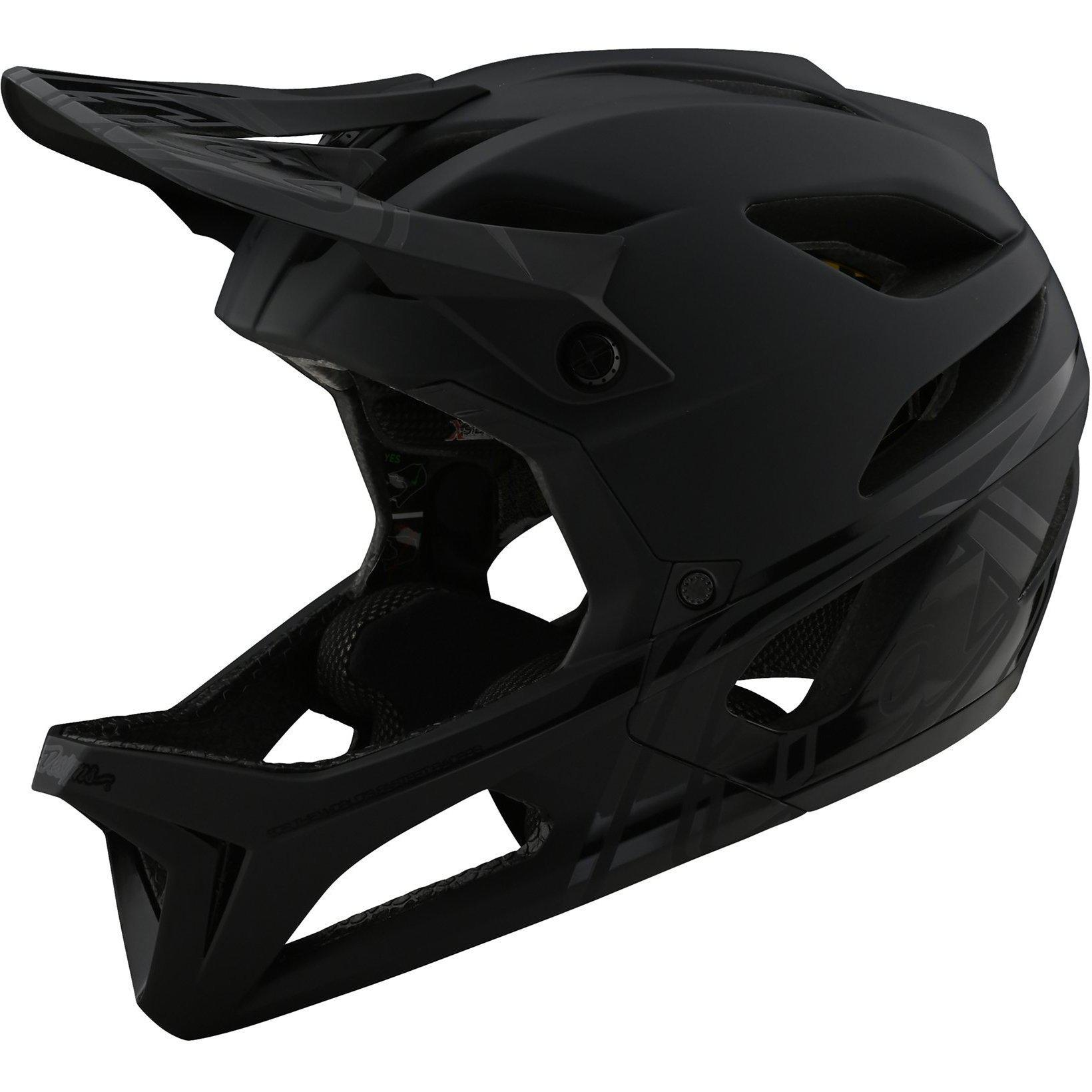 Troy Lee Designs-Troy Lee Designs Stage MIPS Helmet-Stealth - Midnight-M/L-TLD115437083-saddleback-elite-performance-cycling