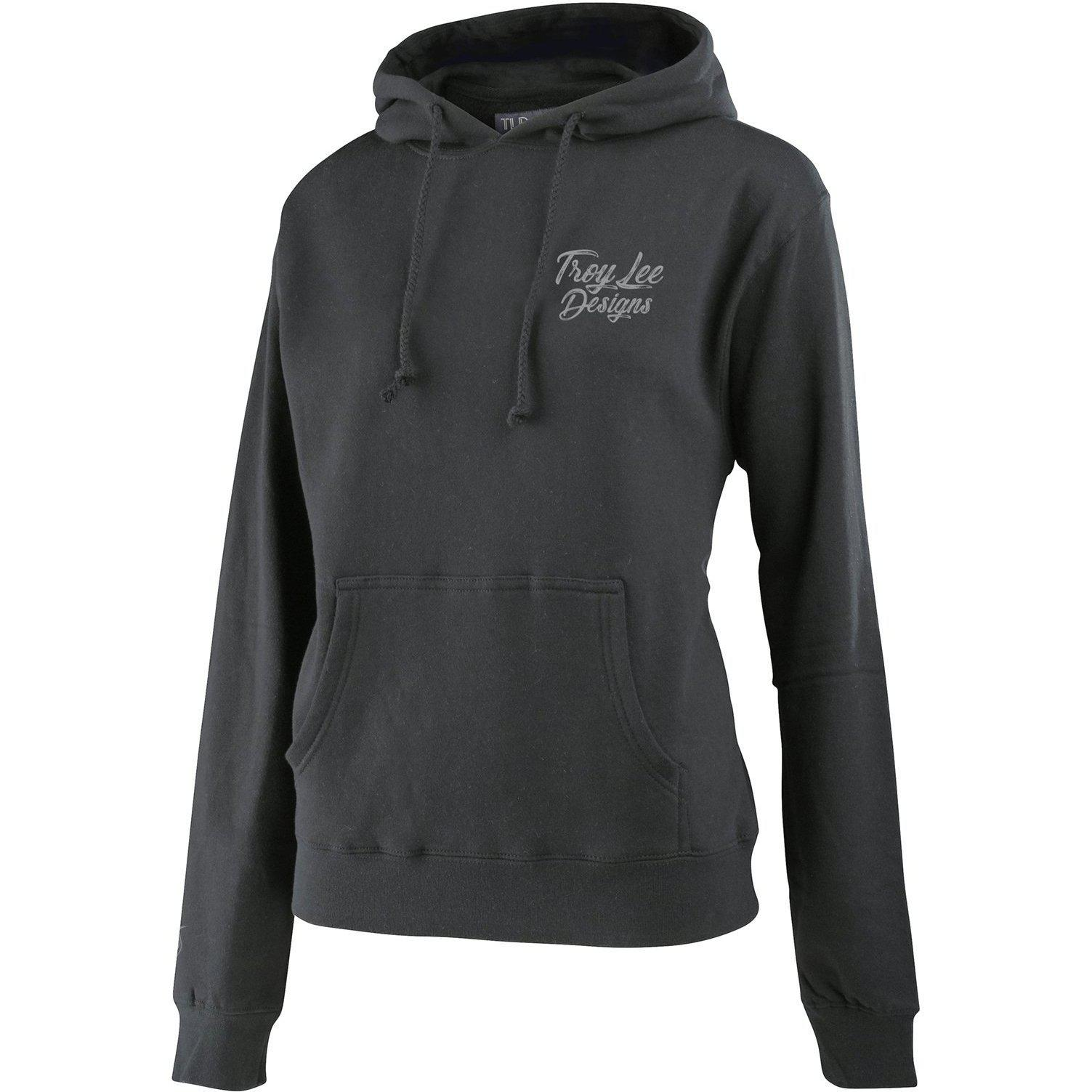 Troy Lee Designs-Troy Lee Designs Women's Widow Maker Pullover-Gunmetal Heather-S-TLD763821002-saddleback-elite-performance-cycling