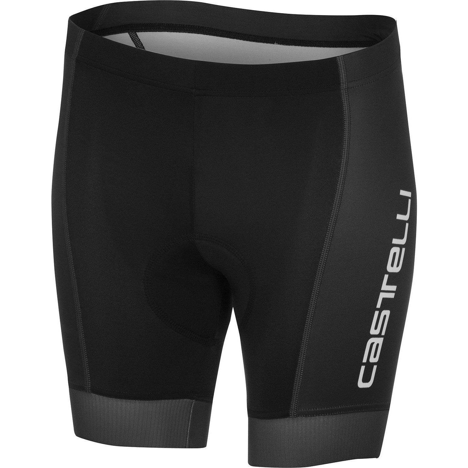 Castelli-Castelli Future Racer Youth Cycling Shorts-Black-10Y-CS1805201010A-saddleback-elite-performance-cycling