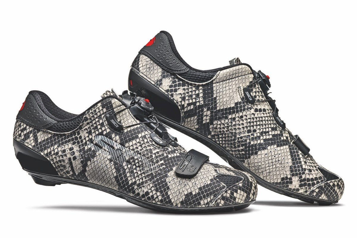 Product shot of the Sidi Sixty Snakeskin