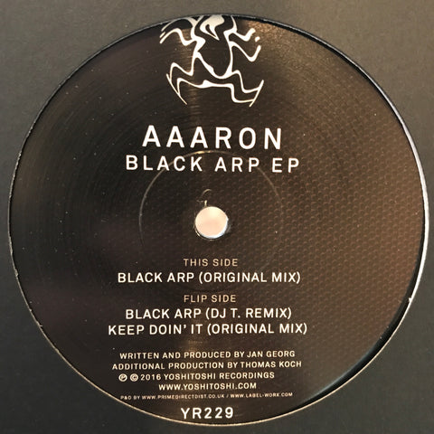 Aaaron - Black Arp EP on Yoshitoshi Recordings