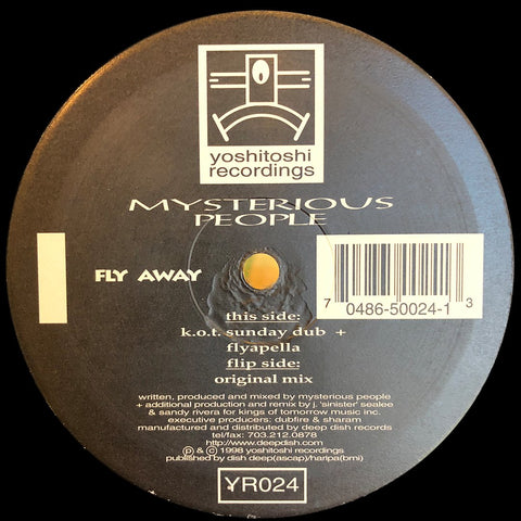 YR024 - Mysterious People - Fly Away (Vinyl)