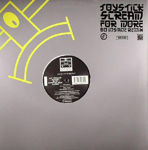 YR030 - Joystick - Go Insane (RMS) b/w Scream For More (Vinyl)