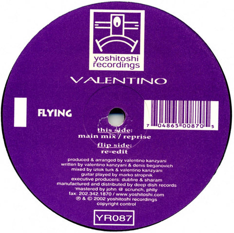 YR087 - Valentino - Flying (Vinyl)