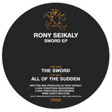 Rony Seikaly The Sword EP vinyl from Yoshitoshi Recordings