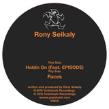 Rony Seikaly - Holdin On / Faces Vinyl from Yoshitoshi Recordings