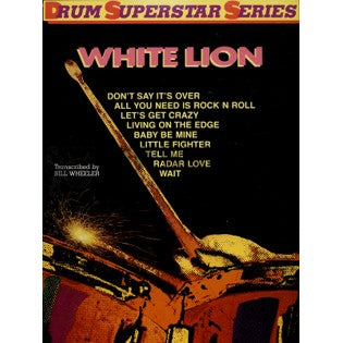 Tell Me - White Lion - Collection of Drum Transcriptions / Drum Sheet Music - Warner Bros. DSSWL