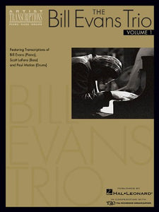 The Bill Evans Trio – Volume 1 (1959-1961) Artist Transcriptions publication cover