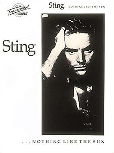 Sting-Nothing Like The Sun (transcribed score w/drum s) publication cover