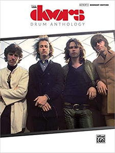 Doors-Drum Anthology Authentic Drumset Edition publication cover
