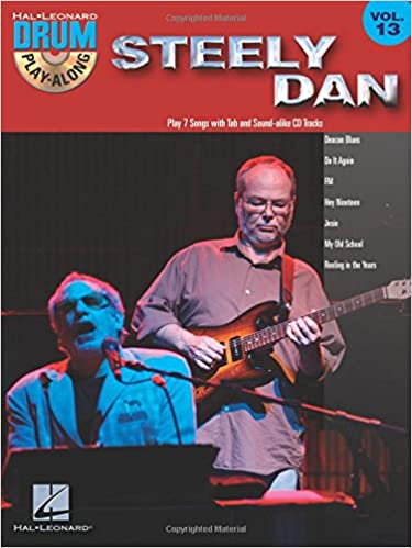 Steely Dan Drum Play-Along Volume 13 publication cover