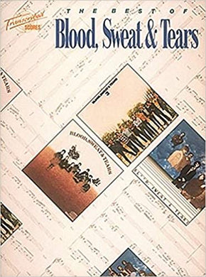 Lucretia Mac Evil - Blood, Sweat & Tears - Collection of Drum Transcriptions / Drum Sheet Music - Hal LeonardBSTTS