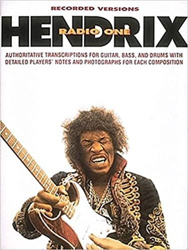 Hendrix-Radio One Authoritative Transcriptions publication cover