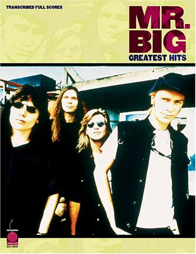 Alive And Kickin' - Mr. Big - Collection of Drum Transcriptions / Drum Sheet Music - Cherry Lane Music MBGHTFS