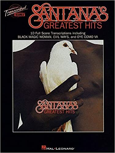 Santana-Greatest Hits Transcribed Scores publication cover