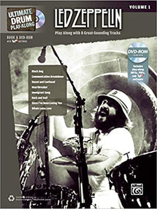 Led Zeppelin-Ultimate Drum Playalong vol. 1 (w/2CD) publication cover