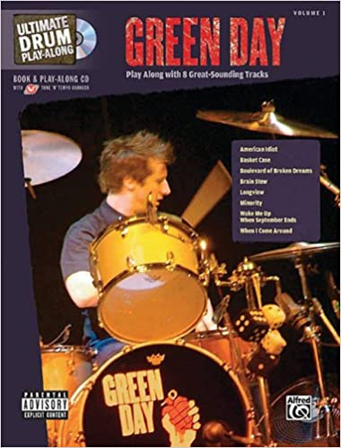 Green Day – Ultimate Drum Play-Along publication cover