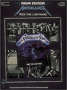 Metallica – Ride the Lightning For Drums publication cover
