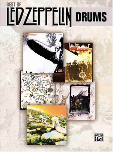 The Song Remains the Same - Led Zeppelin - Collection of Drum Transcriptions / Drum Sheet Music - Alfred Music BOLZDDT