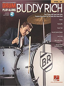 Mercy, Mercy, Mercy - Buddy Rich - Collection of Drum Transcriptions / Drum Sheet Music - Hal Leonard BRDPA