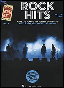 Rock Band Camp vol. 4: Rock Hits Parts and Playing Tips publication cover